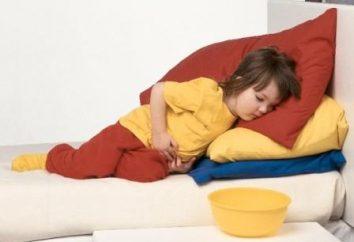 La diarrhée et les vomissements chez les enfants. Que pourrait-il être?