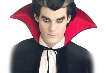 Es sieht aus wie Dracula? Kostüm an Halloween mit ihren Händen: Muster, Ideen und Feedback