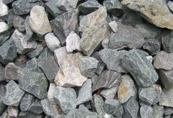 Gravier et de pierre concassée: contrairement, photos