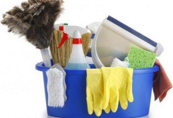 Spring cleaning in den Räumlichkeiten