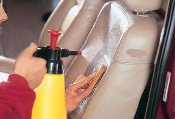 interior do carro Lavagem a seco com suas próprias mãos: dicas