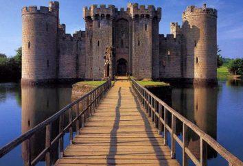 Bodiam Castle, Anglia atrakcje, historia, ciekawostki