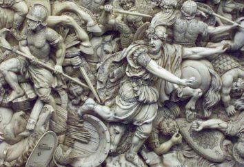 La bataille de Gaugamèles. Aleksandr Makedonsky et Darius: Bataille de Gaugamela