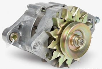 Generator VAZ 2108: montaż, podłączenie, schemat