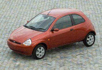 Ford Ka – kobieta samochód