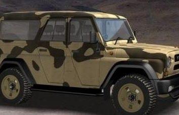 "Przegląd SUV UAZ ""Bary"""