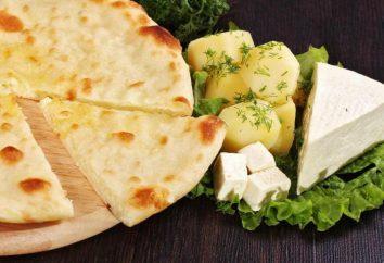 tarte aux pommes de terre ossète et fromage: la recette. tarte ossète avec les verts. garnitures de tartes ossètes