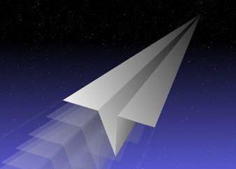 aviões de papel, que voam muito longo: descrição do circuito e recomendações