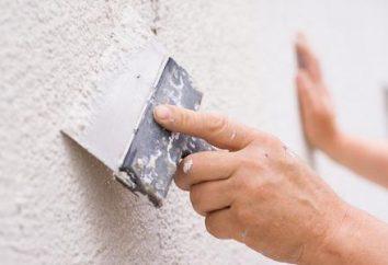 Masilla de fachada decorativa – el método más simple de acabado