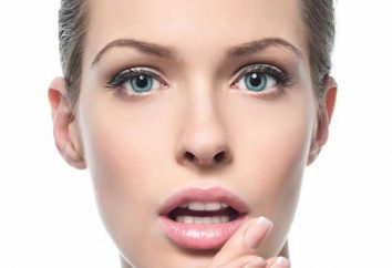 Cosmética vaselina de labios: exámenes de la aplicación