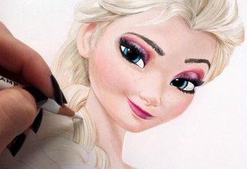 """Jak narysować Elsa """"zimnego serca""""? Kilka porad"""