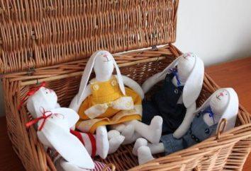Tilda Hare – giocattolo eleganti, confortevoli e sempre alla moda