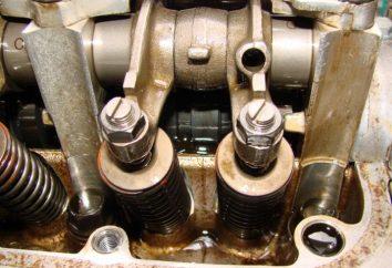 Jak jest dostosowanie wewnętrznego zaworu silnika spalinowego?