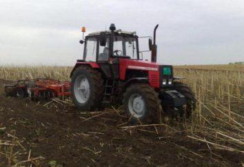"""Tracteur """"Belarus-1221"""": l'appareil, les spécifications, descriptions et commentaires"""