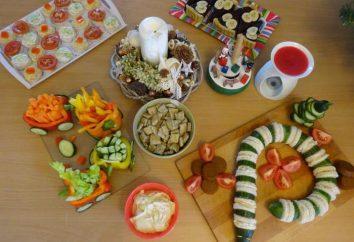 Snacks vegetais: versões para a mesa festiva