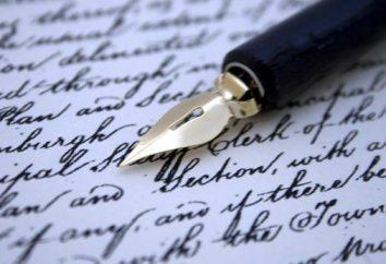 Grafologia – è che la scienza? Determinazione utilizzando la grafologia carattere della scrittura e le firme