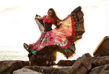 Muster, Stoffauswahl, Nähreihenfolge: Wie ein Zigeuner Rock nähen