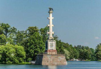 Columna Chesme – símbolo del valor de la flota rusa