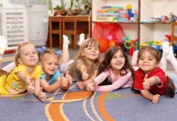 Tarjeta de visita del grupo de kindergarten: contenido y características de diseño