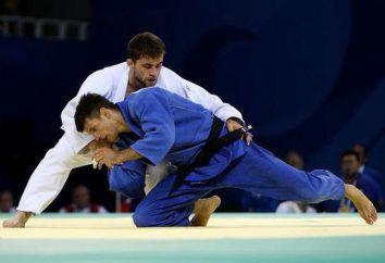 Fondamentaux des techniques de judo, de la formation et de l'équipement pour combattre. art martial