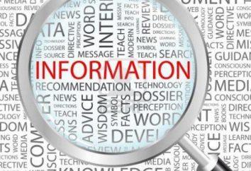 informacje operacyjne: nabywanie, zarządzanie, przechowywanie