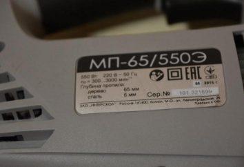 """puzzle in mano elettrica """"Interskol MP-65 / 550E"""": le specifiche, recensioni"""