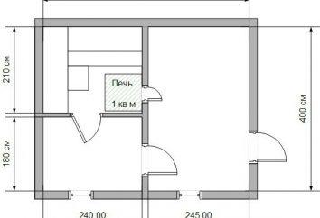 progetto bagno di 4 o 5 metri. Vasche in travi e blocchi