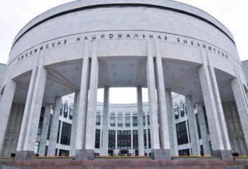 Bibliothèque nationale russe à Saint-Pétersbourg, de la base jusqu'à présent