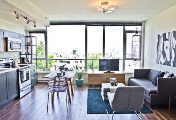 Tanto do estúdio para fazer um apartamento de dois quartos: Opções