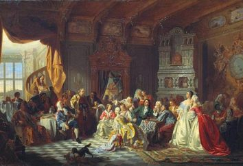 Cour dame. Douce impératrice. Demoiselle d'honneur de Catherine I