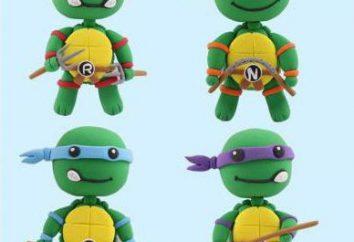 Turtles aus Ton: eine Master-Klasse