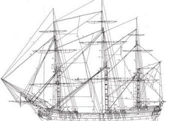 """Modelo do navio """"Mercúrio"""" – a glória da frota russa"""