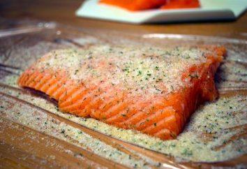 saumon salé: recette pas à pas