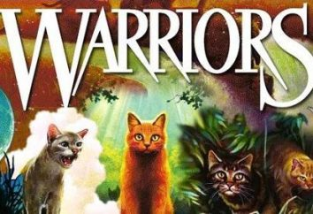 "Il libro ""Gatti-Warriors"" al fine (Erin Hunter)"