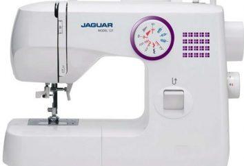"""maszyna do szycia """"jaguar"""": opis, charakterystyka, rodzaje i oceny"""