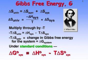 Quelle est l'énergie libre de Gibbs?