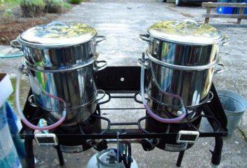 Zalecenia właściciel: jak gotować sok do sokovarke