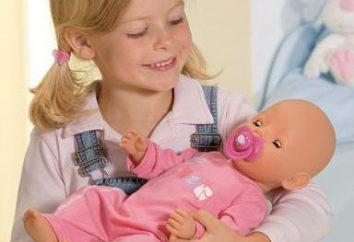 Ce qui devrait être laissé poupée « Bon Bon » dans la vie de la jeune fille?