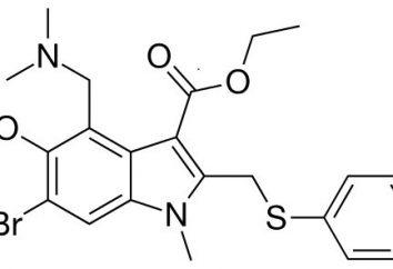 Umifenovir: nome commerciale. Istruzioni per l'uso, analoghi