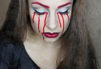 Jak malować twarz na Halloween. Maski na Halloween