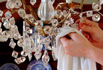 O que e como limpar o cristal em casa?