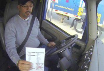 Codziennie wstępnej kontroli kierowców: zasad. Przed- i po-physicals
