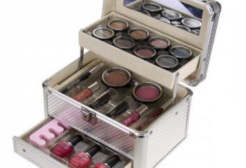 Fall für Kosmetika: Eigenschaften und Arten unverzichtbares Accessoire