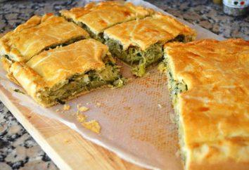 Ciasto pokryte kapusty: przepis ze zdjęciem