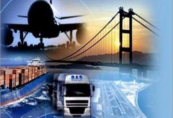 corridors de transport internationaux russes. Formation et développement des corridors de transport internationaux
