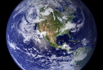 ¿Qué es la tierra: la estructura interna y externa