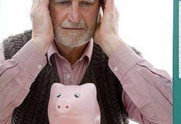 Pension réduite et les règles de son exécution