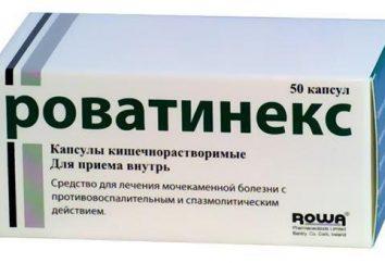 « Rovatineks »: mode d'emploi, la description des médicaments, des critiques
