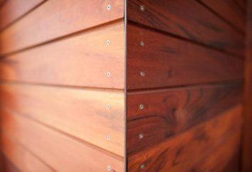 Siding – Drewno bocznica jest …: opis, charakterystyka, cechy i opinii montażu