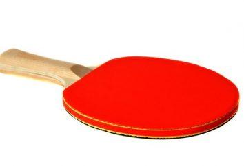 Come scegliere una racchetta per il tennis da tavolo? raccomandazioni